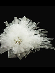 cheap -Gorgeous Satin With Rhinestones Bridal Headpiece