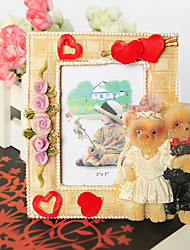 cheap -Bride and Groom Bear Photo Frame