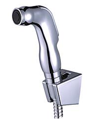 cheap -Bidet Faucet ChromeToilet Handheld bidet Sprayer Self-Cleaning Contemporary / Single Handle One Hole