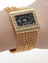 cheap -Women's Luxury Watches Wrist Watch Gold Watch Quartz Gold Hot Sale Analog Ladies Charm Fashion One Year Battery Life / SSUO SR626SW