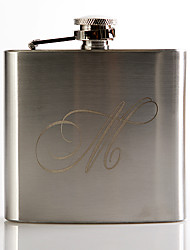 cheap -Personalized Stainless Steel Barware & Flasks / Hip Flasks Groom / Groomsman Wedding / Anniversary / Birthday