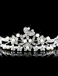 cheap -Crystal / Imitation Pearl / Fabric Tiaras with 1 Wedding / Special Occasion / Party / Evening Headpiece / Alloy