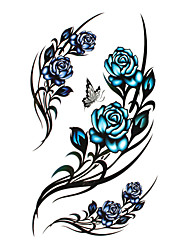 cheap -Temporary Tattoos Disposable / High quality, formaldehyde free Body / Leg / Back Water-Transfer Sticker Tattoo Stickers