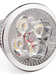 cheap -LED Spotlight 360 lm GU10 MR16 4 LED Beads High Power LED Warm White 85-265 V / # / #