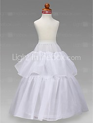 cheap -Wedding Special Occasion Party / Evening Slips Taffeta Tulle Floor-length A-Line Slip Ball Gown Slip Classic & Timeless with