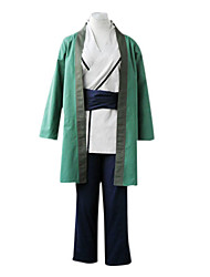 cheap -Inspired by Naruto Tsunade Anime Cosplay Costumes Japanese Cosplay Suits / Kimono Patchwork Long Sleeve Pants / Belt / Cloak For Women's