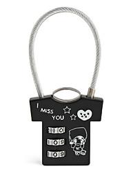 cheap -Luggage Lock Coded Lock 3 Digit Anti-theft Coded lock Luggage Accessory For Luggage