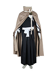 cheap -Inspired by Cosplay Cosplay Anime Cosplay Costumes Japanese Cosplay Suits / Kimono Patchwork Long Sleeve Bandage / Top / Belt For Men's / Cloak