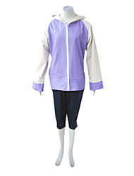cheap -Inspired by Naruto Hinata Hyuga Anime Cosplay Costumes Japanese Cosplay Suits Patchwork Long Sleeve Coat Pants For Women's