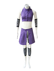 cheap -Inspired by Naruto Ino Yamanaka Anime Cosplay Costumes Japanese Cosplay Suits Patchwork Sleeveless Vest / Sleeves / Waist Accessory For Women's