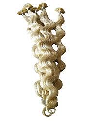 "cheap -20"" Keratin Pre-bonded Nail-tip Hair Extensions 100 Pieces Per Pack"