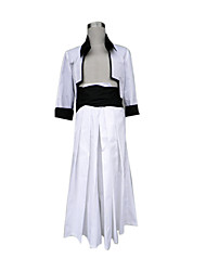 cheap -Inspired by Dead Grimmjow Jaegerjaquez Anime Cosplay Costumes Japanese Cosplay Suits / Kimono Coat / Belt / Hakama pants For Men's