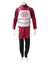 cheap -Inspired by Naruto Choji Akimichi Anime Cosplay Costumes Japanese Cosplay Suits Long Sleeve Coat / Vest / Pants For Men's