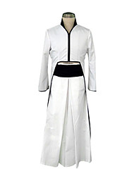 cheap -Inspired by Cosplay Cosplay Anime Cosplay Costumes Japanese Cosplay Suits / Kimono Patchwork Long Sleeve Coat / Belt / Hakama pants For Men's
