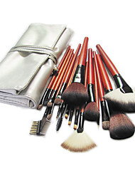 cheap -Professional Makeup Brushes Makeup Brush Set 18pcs Pony / Synthetic Hair / Artificial Fibre Brush Makeup Brushes for / Pony Brush