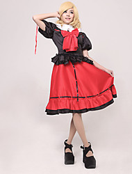 cheap -Inspired by TouHou Project Cosplay Video Game Cosplay Costumes Cosplay Suits Patchwork Top Costumes