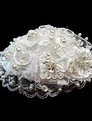 billige -Dame Blonde Imiteret Perle Medaljon-Bryllup Speciel Lejlighed Blomster