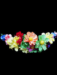cheap -Crystal / Fabric / Paper Tiaras / Flowers with 1 Wedding / Special Occasion / Party / Evening Headpiece