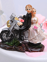 cheap -Cake Topper Garden Theme Classic Couple / Vehicle Resin Wedding / Bridal Shower with Gift Box