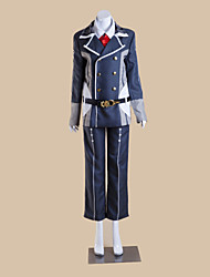 cheap -Inspired by Cosplay Cosplay Video Game Cosplay Costumes Cosplay Suits Patchwork Top Costumes