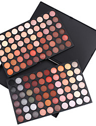 cheap -120 Colors Eyeshadow Palette Powders Matte Shimmer Eye Matte Shimmer Glitter Shine smoky Halloween Makeup Smokey Makeup Cosmetic Gift