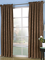 "cheap -Custom Made Blackout Curtains Drapes Two Panels 2*(57W×84""L) Purple / Embossed / Bedroom"