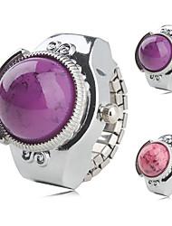 cheap -Women's Quartz Silver Ladies Vintage - Purple Pink