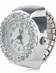 cheap -Women's Ring Watch Diamond Watch Analog Quartz Ladies Casual Watch / Japanese