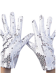 cheap -Nylon Wrist Length Glove Party / Evening Gloves With Sequin