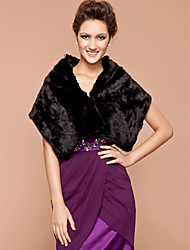cheap -Shawls Feather / Fur Wedding / Party Evening Wedding  Wraps / Fur Wraps With