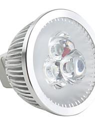 cheap -6500lm GU5.3(MR16) LED Spotlight MR16 3 LED Beads High Power LED Dimmable Natural White 12V / #
