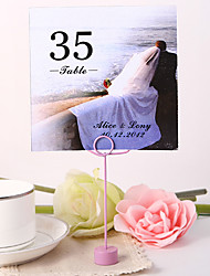 cheap -Personalized Square Table Number Card - Together Wedding Reception