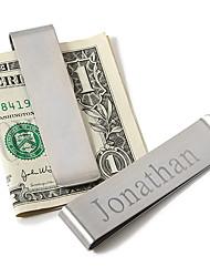 Недорогие -Нержавеющая сталь Зажимы для денег Жених Дружка Свадьба Годовщина День рождения
