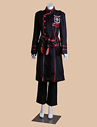 cheap -Inspired by D.Gray-man Kanda Yuu Anime Cosplay Costumes Japanese Cosplay Suits Patchwork Long Sleeve Coat / Top / Pants For Men's