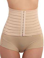 cheap -Women's Hook & Eye Underbust Corset / Waist Cincher - Solid Colored Nude L XL XXL / Sexy