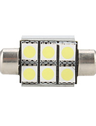 cheap -1pc Festoon Light Bulbs SMD LED 100-150 lm For