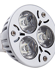 cheap -3 W LED Spotlight 260-300 lm GU5.3(MR16) MR16 3 LED Beads High Power LED Natural White 12 V