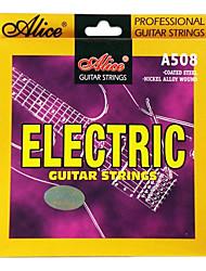 Недорогие -Алиса - (A508-SL) стали с покрытием Струны для электрогитары (009-042)