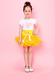 cheap -Amazing Yellow Girl Skirt With Lining