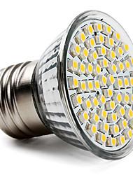 cheap -1pc 3.5 W LED Spotlight 300-350 lm E26 / E27 60 LED Beads SMD 2835 Warm White Cold White Natural White 220-240 V
