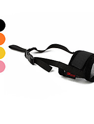 cheap -Dog Muzzle Adjustable / Retractable Training Solid Colored Textile Black Yellow Pink Orange