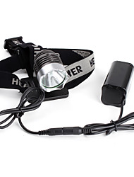 cheap -LED Flashlights / Torch Headlamps 1200 lm LED LED Emitters 3 Mode Cycling / Bike / Aluminum Alloy