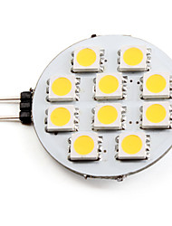 cheap -LED Spotlight 2700 lm G4 10 LED Beads SMD 5050 Warm White 12 V
