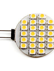 cheap -LED Spotlight 2700 lm G4 24 LED Beads SMD 3528 Warm White 12 V