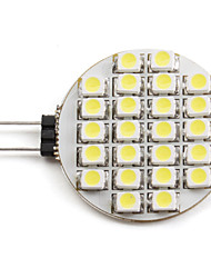 cheap -2 W LED Spotlight 6000 lm G4 24 LED Beads SMD 3528 Natural White 12 V