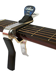 cheap -Alice A007DSL-A1 Advanced Acoustic Guitar Capo with Picks Clip