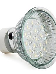 cheap -1pc 1 W LED Spotlight 60-80 lm E14 GU10 E26 / E27 18 LED Beads Dip LED Warm White Cold White 220-240 V