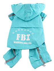 cheap -Dog Rain Coat Waterproof Dog Clothes Costume Nylon XS S M L XL XXL