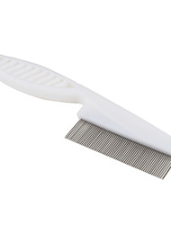 cheap -Cat Dog Grooming Shedding Tools Plastic Comb Pet Grooming Supplies