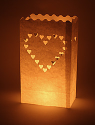 cheap -Candle & Holder Material / Hard Card Paper Wedding Decorations Wedding / Party Vegas Theme / Wedding Spring / Summer / Fall